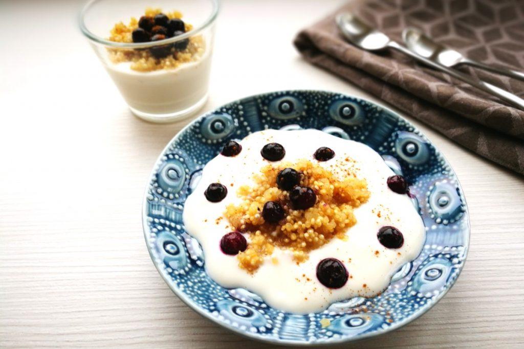 Quinoa Frühstück, healthyfood, gesundes Frühstück, schnelle Küche, was koche ich heute, vegetarisch kochen, vegan, veganes Frühstück, veganes Essen