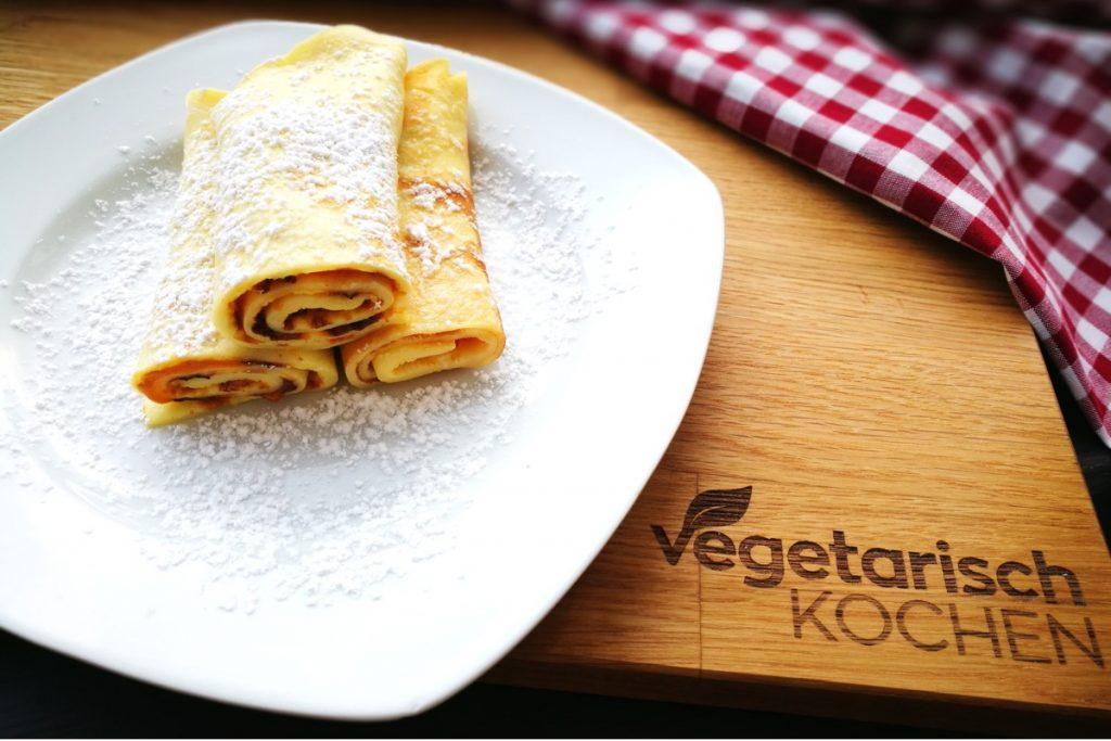 vegetarischkochen, vegetarisch-kochen, Küchenklassiker, österreichische Küche, Kinder, was koche ich heute, Nachspeise, gefüllte Palatschinken, Gemüsepalatschinke